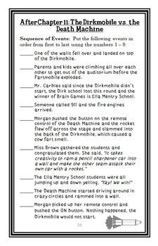 My Weirdest School BUNDLE (Dan Gutman) 3 Novel Studies : Books #1 - 3 (77 pages)