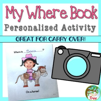 Where Questions: My Where Book