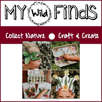 My Wild Finds {Collect Nature, Craft, and Create}