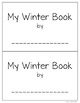 My Winter Book Editable and Personalized