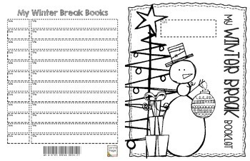 My Winter Booklet Gift
