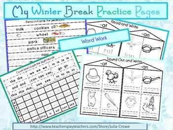 My Winter Break Practice Pages