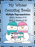 My Winter Interactive Counting Books (Numbers 0-10 & 11-20) Includes 2 Books
