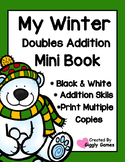 My Winter Doubles Addition Mini Book