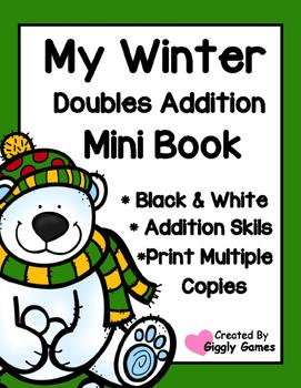 My Winter Doubles Addition Mini Book