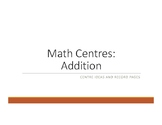 Addition Centres & Winter theme Practice Booklet