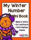 My Winter Numbers Mini Book