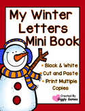 My Winter Letters Uppercase Lowercase Mini Book