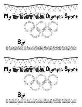My Winter Olympic Sport