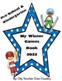 My Winter Olympics Book - 2018 - PreK & Kinder