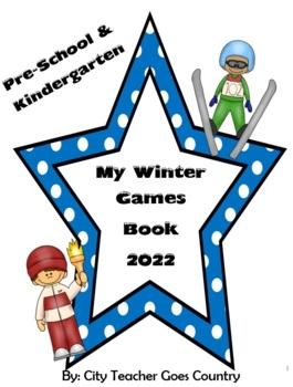 My Winter Olympics Book - Sochi 2014 - PreK & Kinder