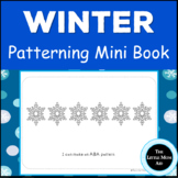 Preschool and Kindergarten Winter Patterns Activity Book