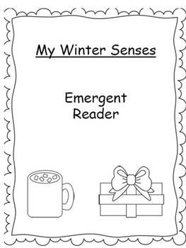 My Winter Senses- Emergent Reader