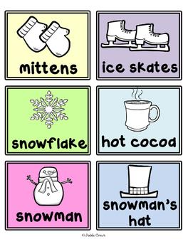 My Winter Sentence Writing Book: Reading & Writing Seasonal Word Practice