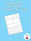 My Winter Window (winter writing)