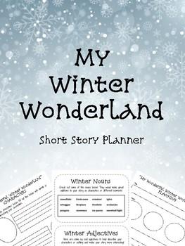 My Winter Wonderland - Short Story Planner