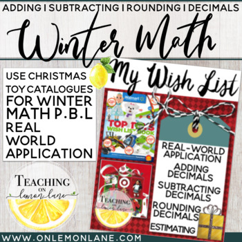 My Wish List (Adding Subtracting Rounding Numbers w/ Decimals) Real World Exp.