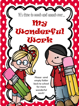 My Wonderful Work Folder Cover