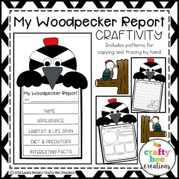 My Woodpecker Animal Report Craft