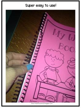 First Grade Word Book