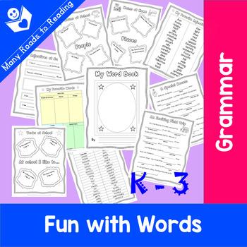 My Word Book: K-3