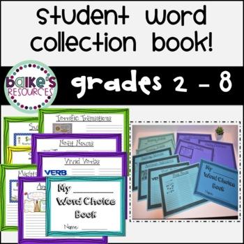 My Word Choice Book