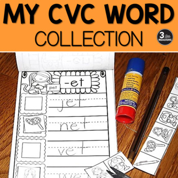 My Word Collection Book {CVC Edition}