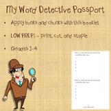 My Word Detective Passport