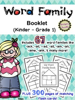 My Word Family Book!
