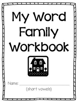 My Word Family Workbook