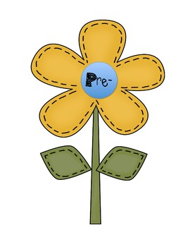 My Word Garden - Prefix/Suffix Flowers (Common Core Aligned)