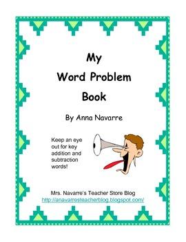 My Word Problem Book