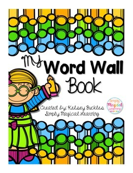 My Word Wall Book