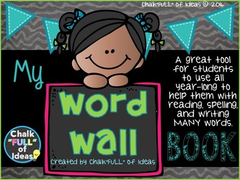 My Word Wall Book [Interactive Spelling Dictionary for Pri