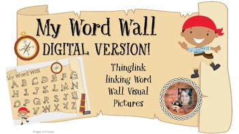 My Word Wall DIGITAL VERSION LINK