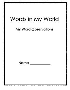 My Word of Wonder Journal