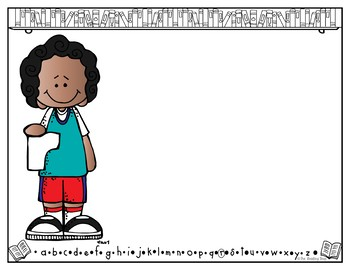 My Words Book - Alphabet Book - Letter of the Week