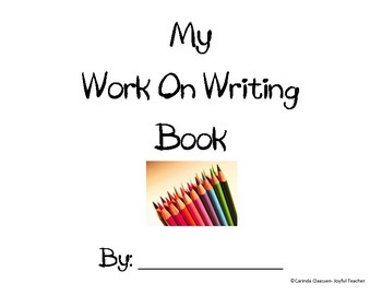 My Work on Writing Book