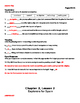 My World: Building Our Country, Chapter 2 Worksheets
