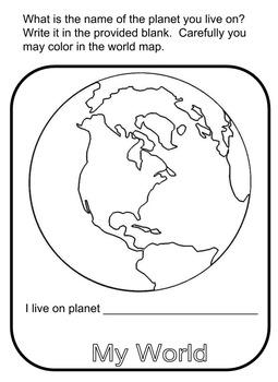 My World - EDITABLE