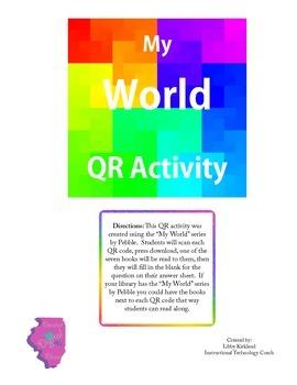 My World QR Activity - Social Studies
