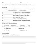 My World Social Studies Chapter 1 Assessments-Grade 3