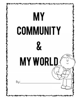 My World- Supplement for a Communities Unit