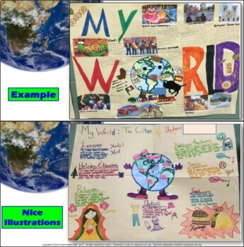 My World: The Culture and Geography of Me – Student Cumulative Project