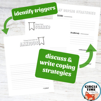 Anxiety Worksheets by SRL Printables | Teachers Pay Teachers