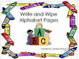 My Write and Wipe Alphabet Booklet