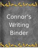 My Writing Binder