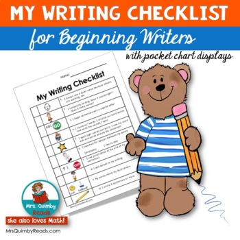 Writing Checklist - Beginning Writers  [Writing Workshop]