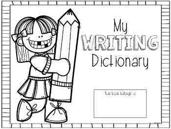 My Writing Dictionary