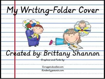 My Writing- Folder/Binder Cover- FREEBIE